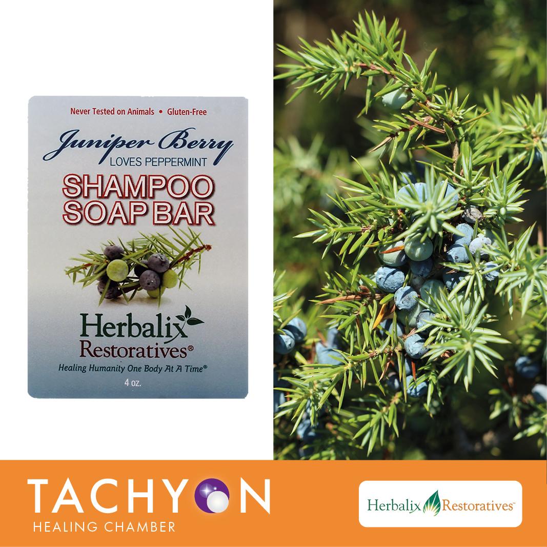 Herbalix Juniper Shampoo Soap Bar