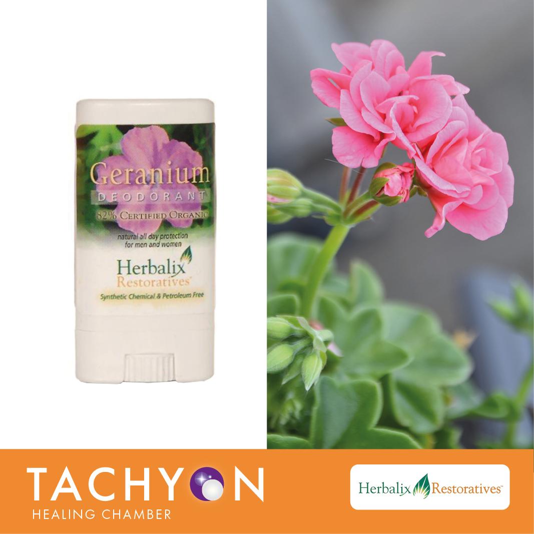Herbalix Travel Deodorant - Geranium