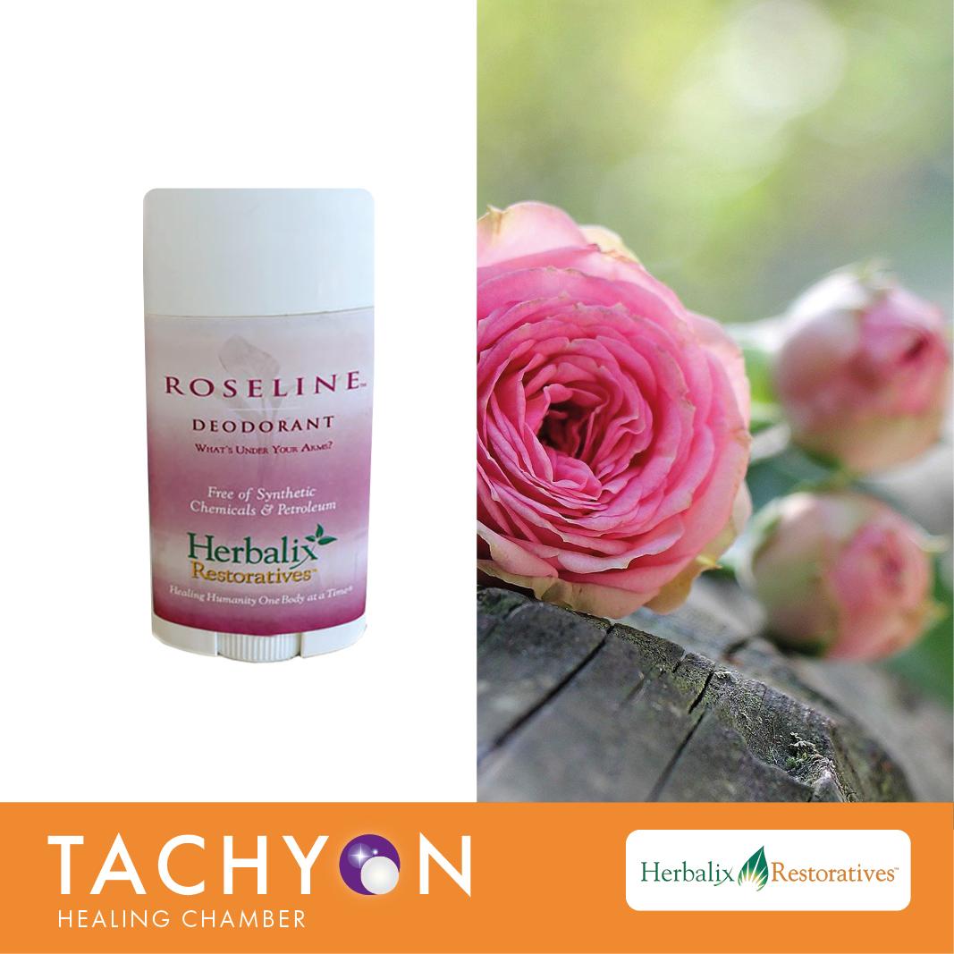 Herbalix Travel Deodorant - Roseline