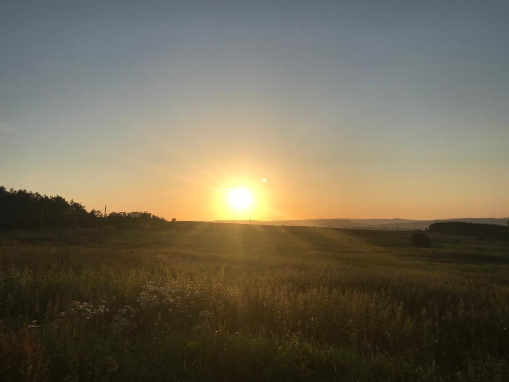 Sun rise Winterhill - Egerton